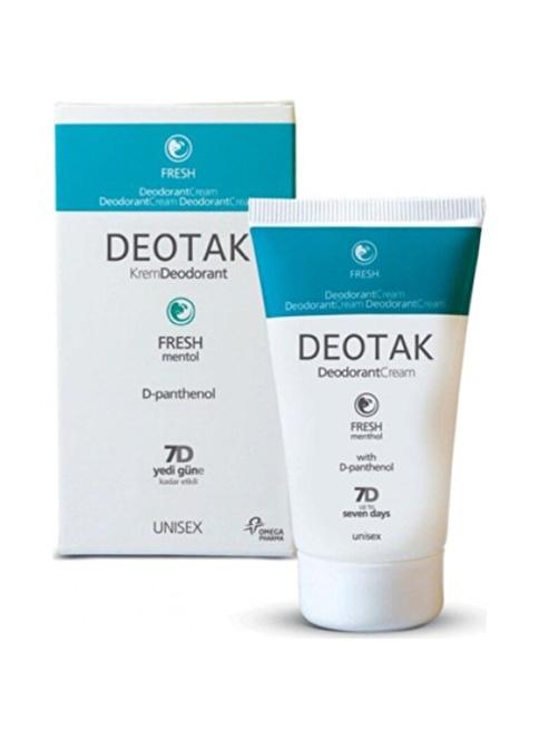 Deotak  Deodorant Cream Fresh 35ml Renksiz